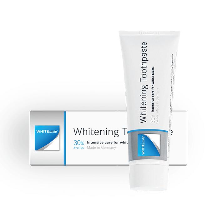 Intensivpflege für weiße Zähne die Whitening Toothpaste
